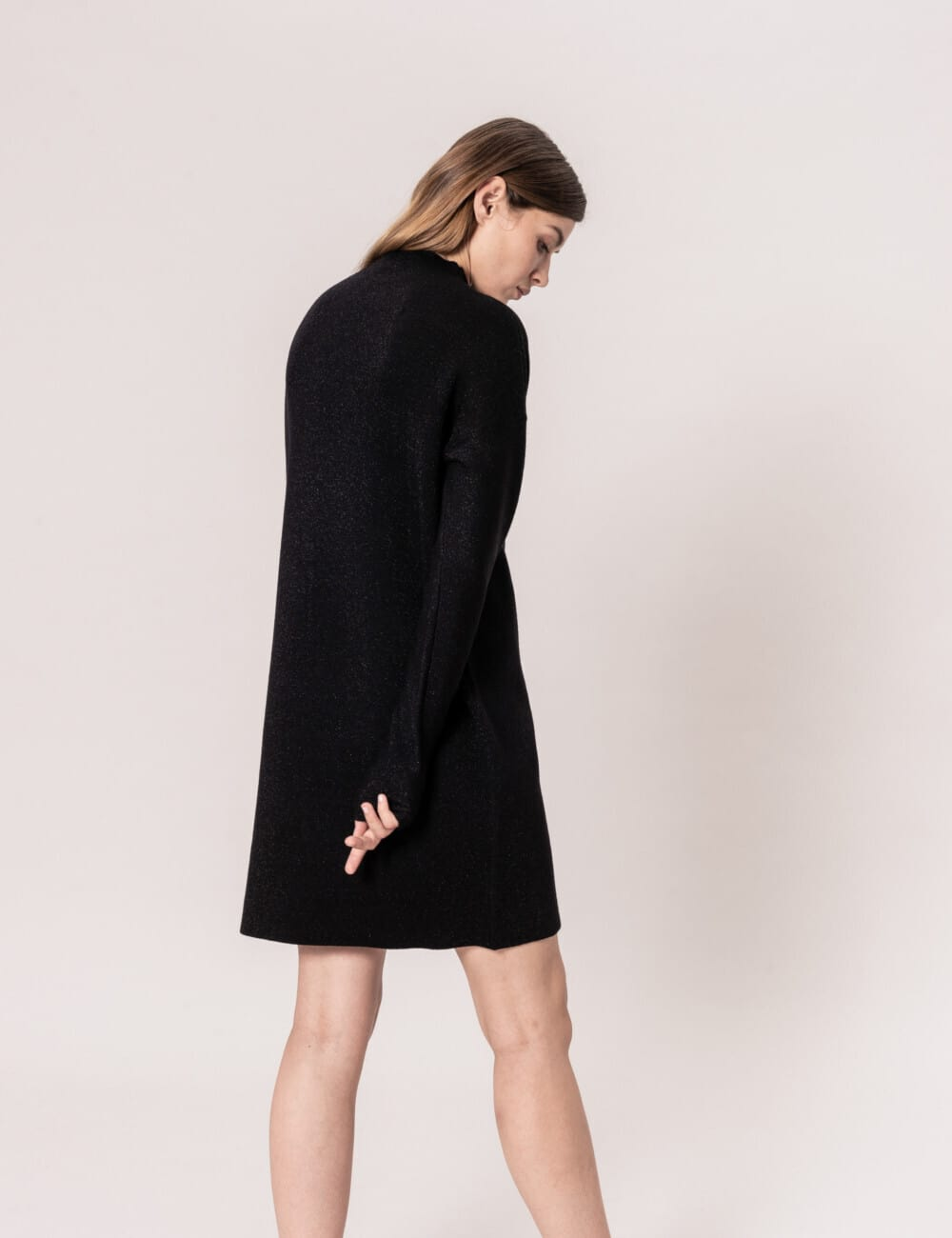 Robe ROBIN : Col montant