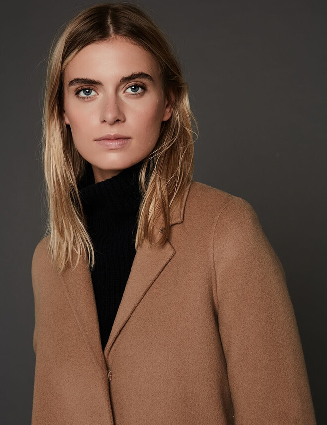 Manteau Mathieu : Lainage Double-Face