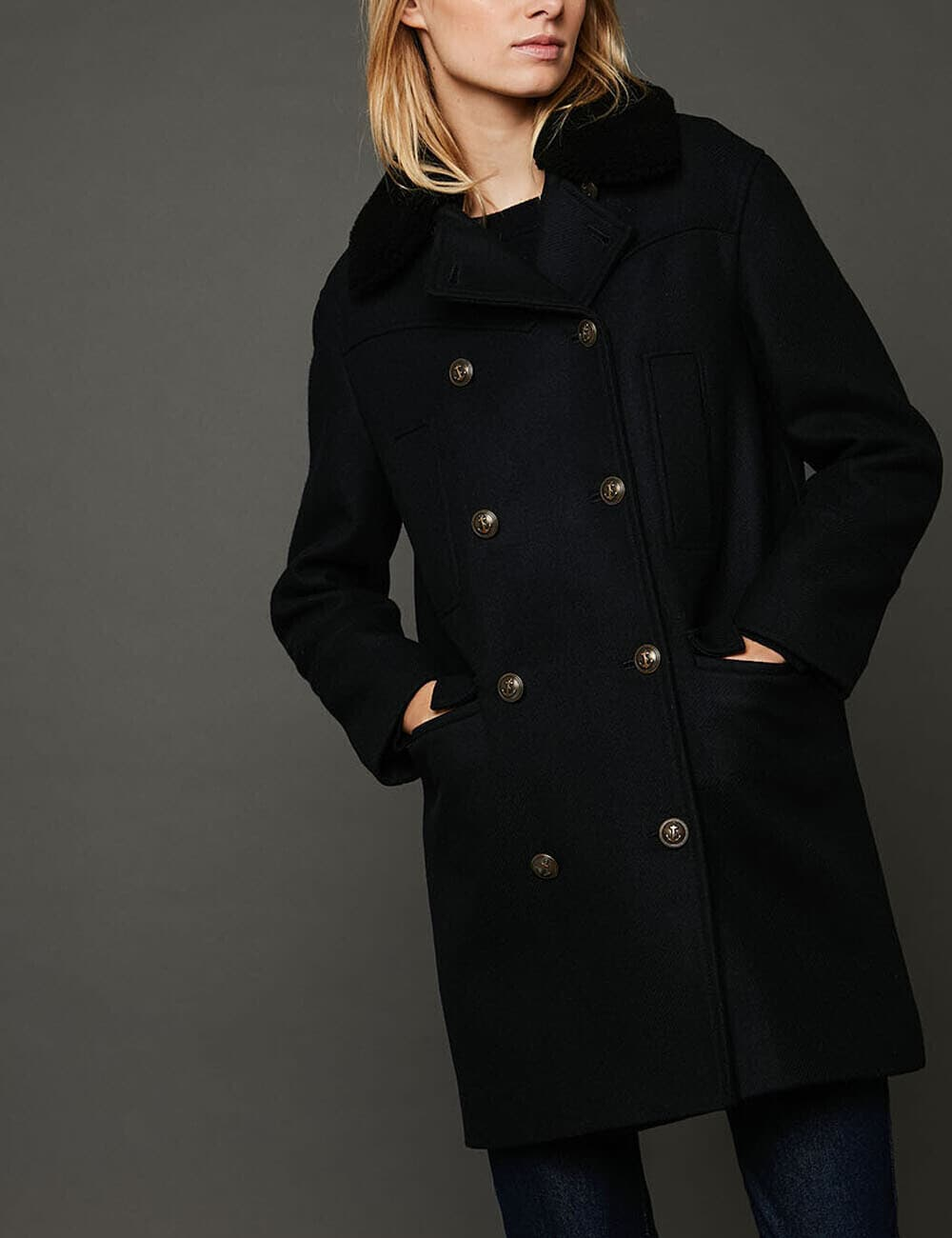 Manteau Misty : Double Boutonnage